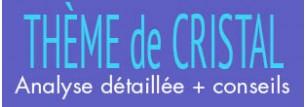 FORFAIT COMPLET :CALCUL DU THEME DE CRISTAL + ANALYSE PERSONNALISEE D'1H30MN AVEC DANIEL BRIEZ + CONSEILS